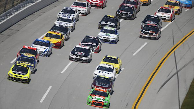 Patrick leads laps at Talladega Superspeedway