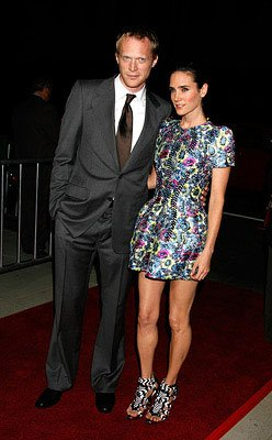 Paul Bettany and Jennifer Connelly at the Los Angeles premiere of Focus Features' Reservation Road