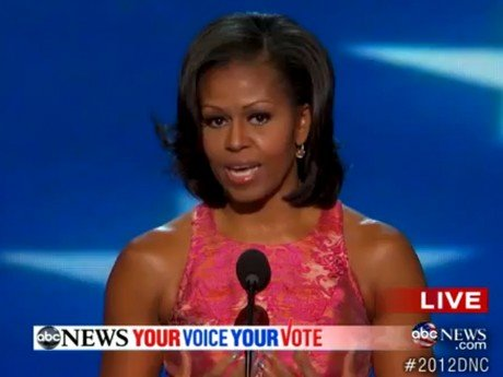 Michelle Obama, grande star de la convention démocrate