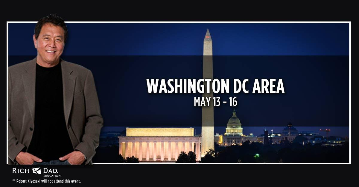 Free Event in Washington DC Area, May 13 - 16!