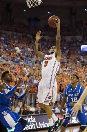 No. 7 Florida handles No. 25 Kentucky, 69-52