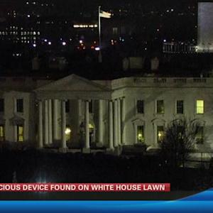 White House locked down due to drone 4:30 a.m.