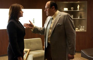 Lorraine Bracco and James Gandolfini HBO's The Sopranos