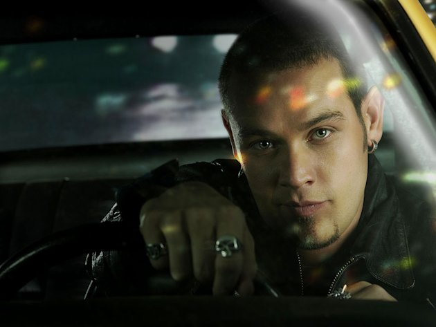 Winston Salazar (Kevin Alejandro) participates in an underground cross-country road race in Drive. 