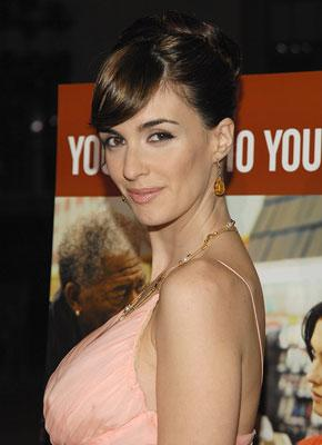 Paz Vega at the Los Angeles premiere of THINKFilm's 10 Items or Less
