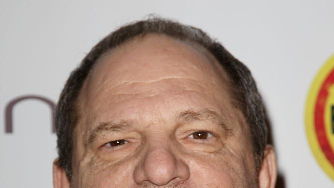 "Harvey Weinstein poses at a special screening of ""Bully"" presented by The Weinstein Company and JP Morgan Chase and Company in partnership with Bing and Gucci, in New York on Tuesday, March 20, 2012. The film, directed by Sundance and Emmy-Award winning filmmaker Lee Hirsch, will be released in theaters on March 30. (AP Photo/StarPix, Kristina Bumphrey)"
