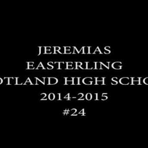 Jeremias Easterling Highlights 2014-15 Season