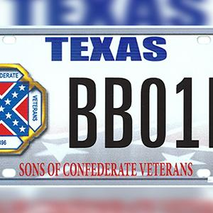 Supreme Court Considers Confederate Flag Plate