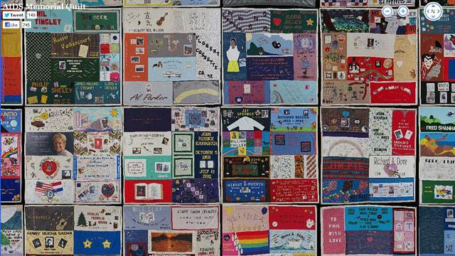 AIDS Quilt Goes Digital: See The Full Quilt Online