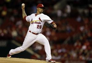 Lohse wins 15th, Cardinals beat Astros 4-1
