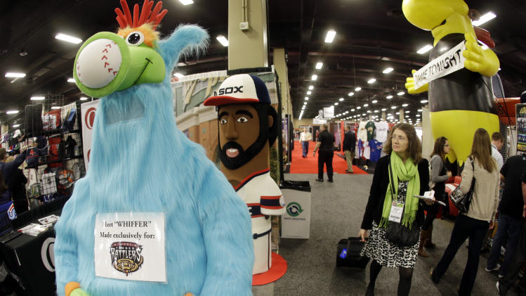 Trade show baseball's other high-dollar business
