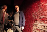 Italian film director Dario Argento poses in the Profundo Rosso museum and shop on May 8 in Rome. One of Quentin Tarantino's biggest inspirations, the 71-year-old with deep-set eyes said he was inspired by his nightmares and found the vampire count fascinating as a wild bisexual with a modern outlook on the world
