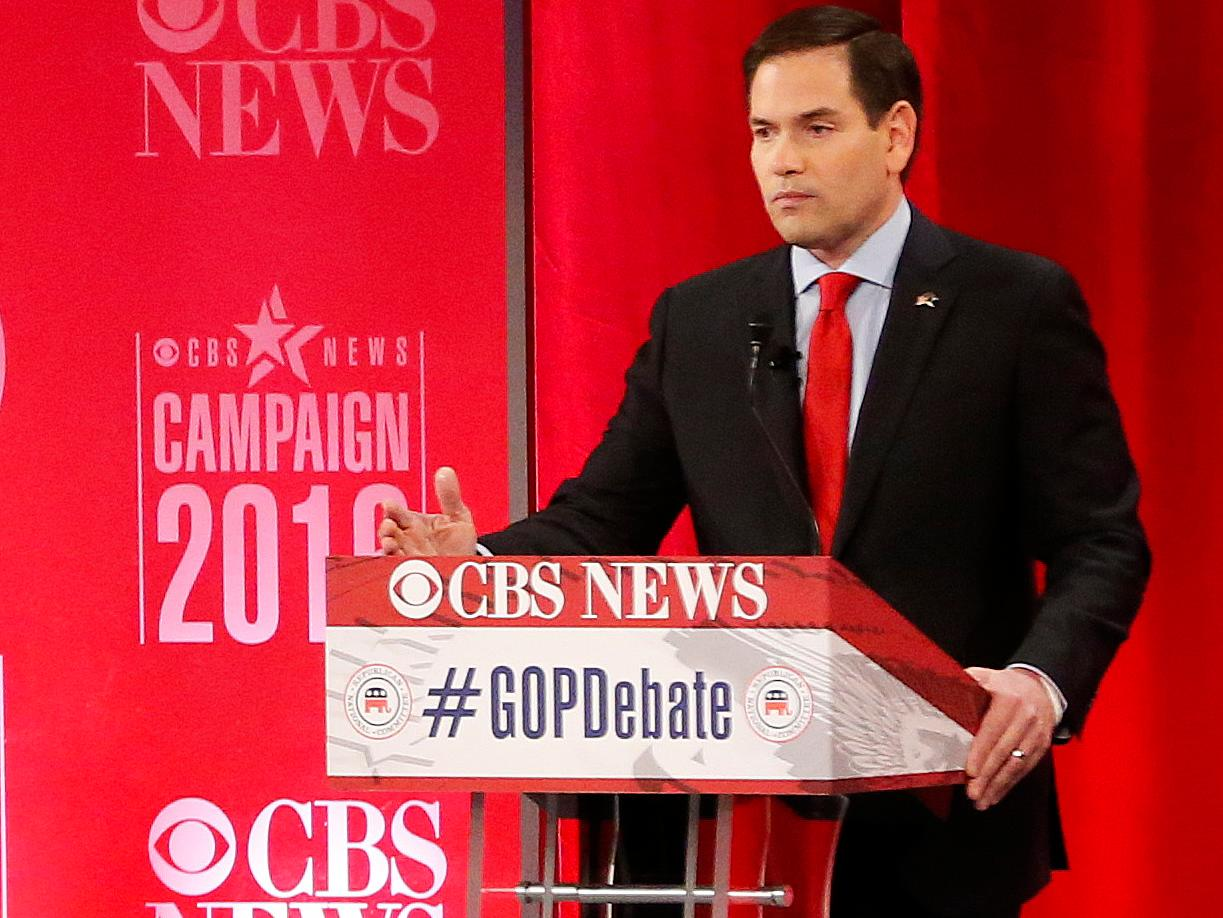 Ted Cruz speaks Spanish on debate stage as he and Marco Rubio accuse each other of 'lies'