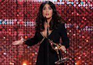 Salma Hayek, sublime aux Bambi Awards 2012