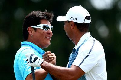 Tiger Woods' new swing coach Notah Begay?
