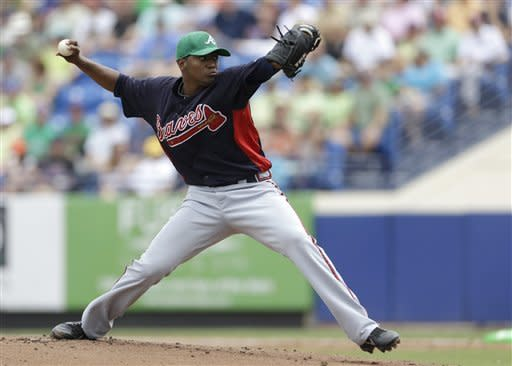 Teheran strikes out 7 as Braves beat Mets 2-1