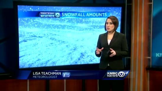 Snow to taper off about noon