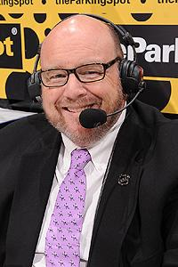 Los Angeles Kings PA announcer David Courtney