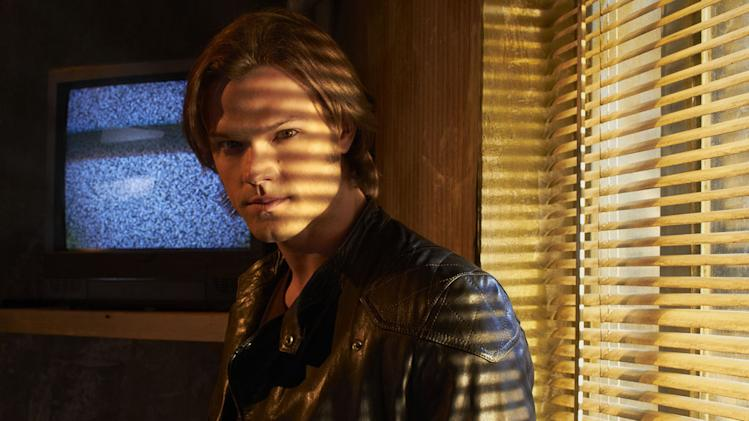"Jared Padalecki as Sam Winchester in ""Supernatural."""