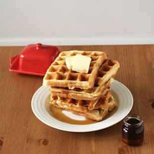Shhhh! the Secret Ingredient for Making the World's Best Waffles