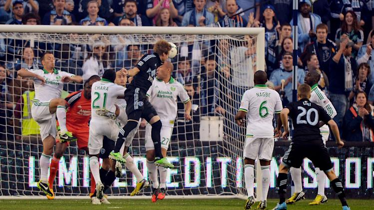 MLS: Portland at Sporting KC