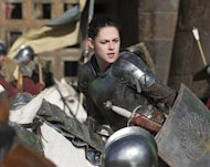 US actress Kristen Stewart in 'Snow White and the Huntsman'