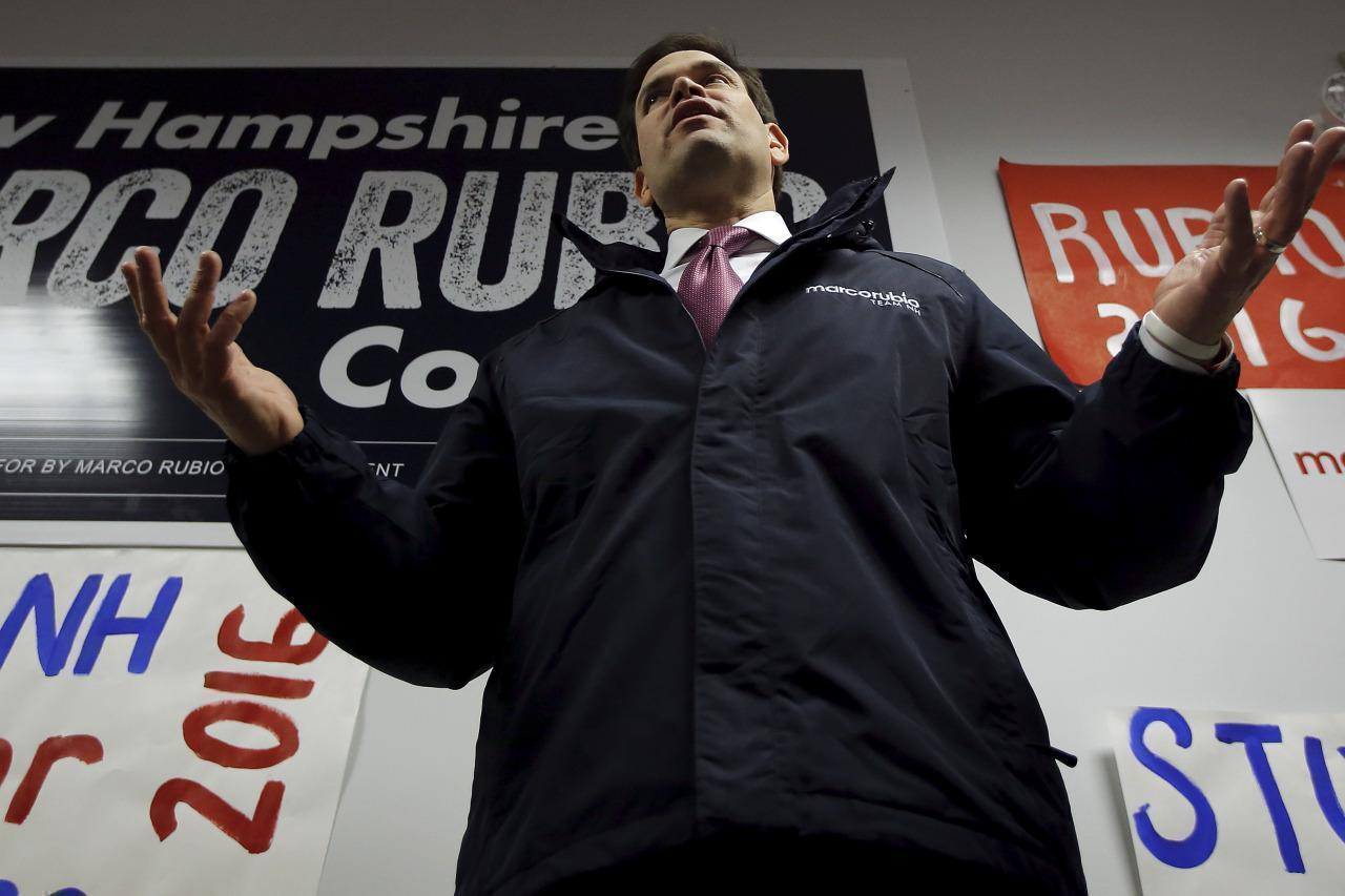 Rubio searches for answers while his opponents circle