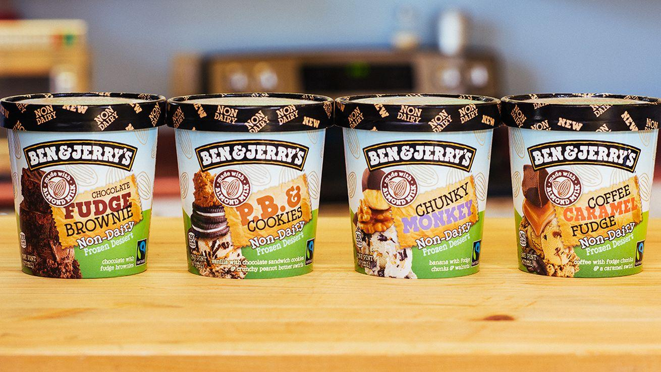 Ben & Jerry's Caters to Vegans With New Almond Milk Ice Cream