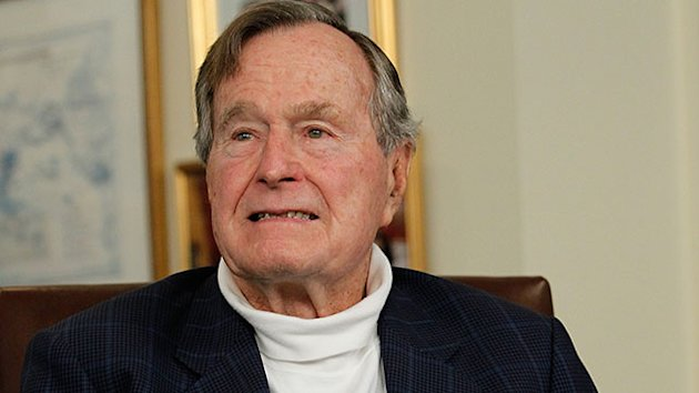 Ex-President George H.W. Bush in ICU