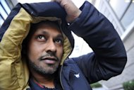 British dancer and choreographer, Akram Khan, poses for a photo in Paris, on December 11, 2012. Khan's latest show, entitled 'Desh,' is to take place at the Chatelet theatre from December 19 to January 2, 2013