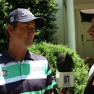 Leader interviews before Round 4 of the Wells Fargo Championship