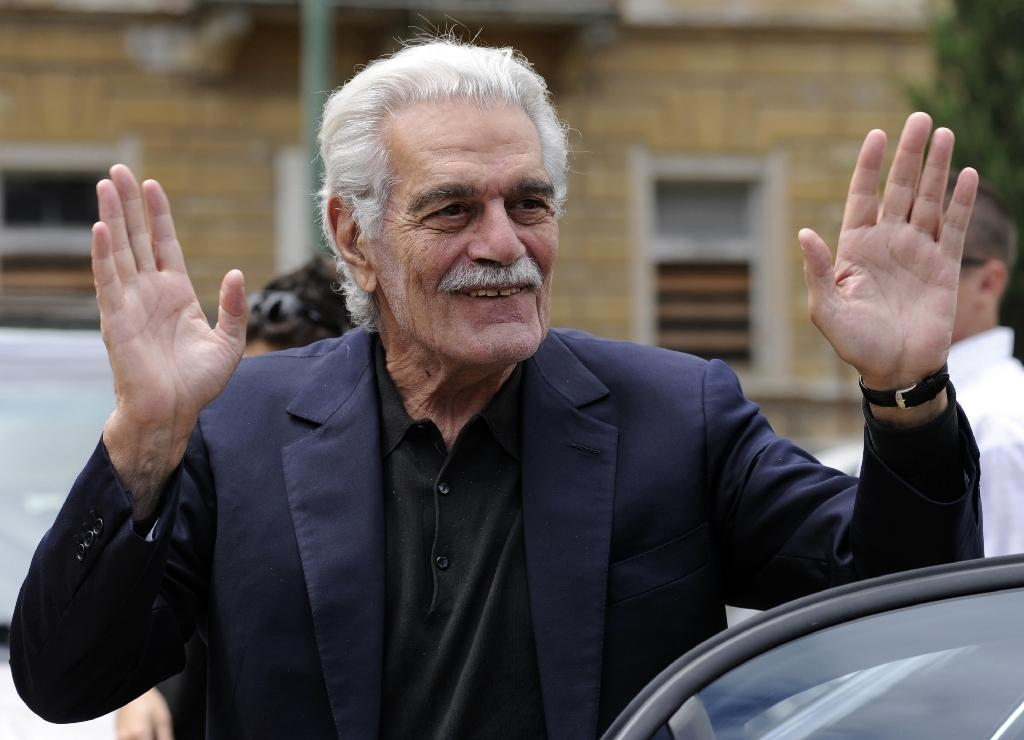 Film legend Omar Sharif has Alzheimer's: agent