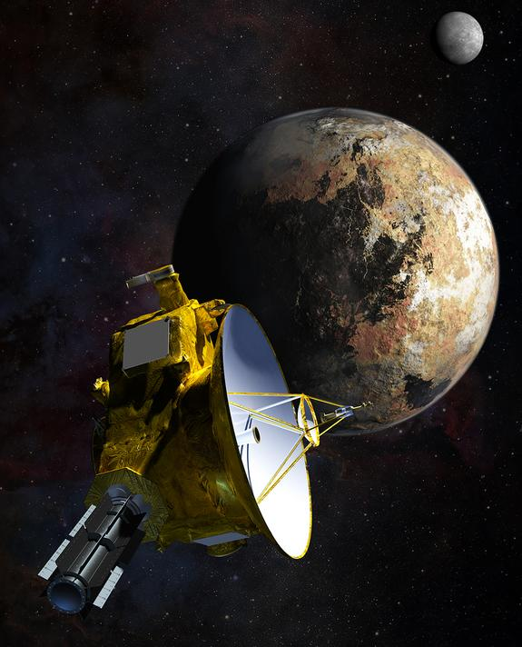 NASA Probe Bound for Pluto Carries Piece of Pioneering SpaceShipOne