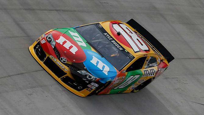 Busch dominates Saturday Sprint Cup practices
