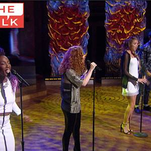 "The Talk - Clean Bandit Performs ""Rather Be"""
