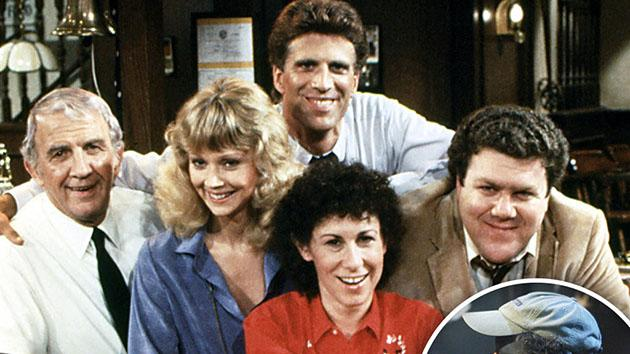 "The cast of ""Cheers"" - Nicholas Colasanto, Shelley Long, Ted Danson, Rhea Perlman, George Wendt, (Season 1), 1982-93. Inset: Gary Portnoy performs the theme from ""Cheers"" during 2006 TV Land Awards."