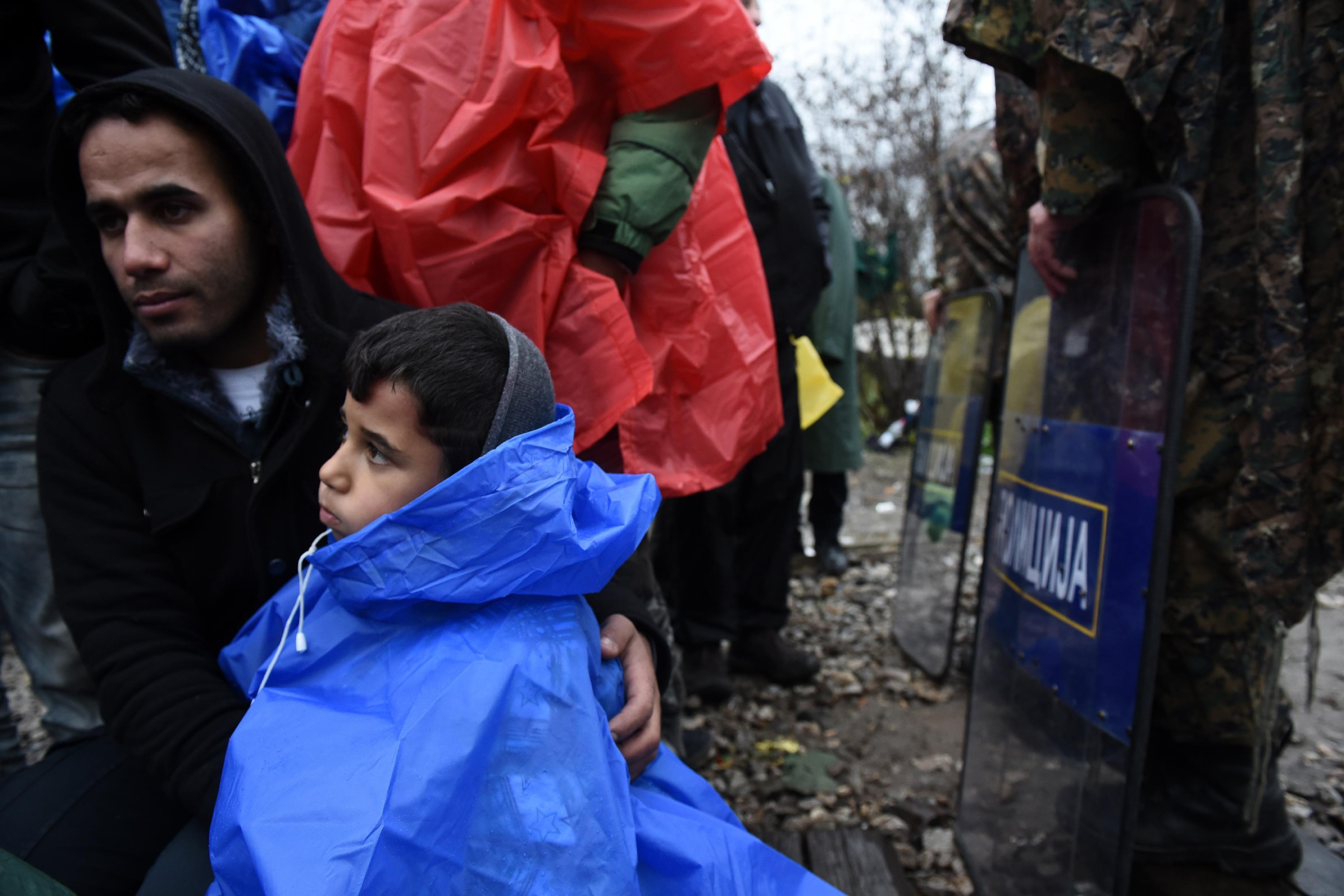 The Latest: Austria reports drop in refugees coming from in