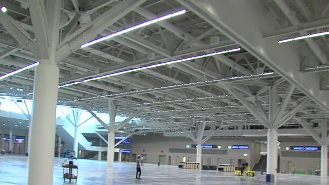 Tour of new Convention Center