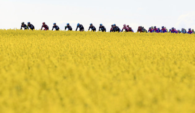 TOPSHOTS  The Pack Rides AFP/Getty Images