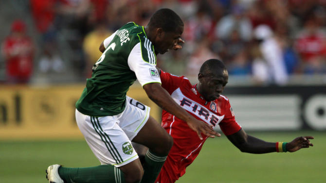 Timbers play to 1-1 draw with Fire on late goal