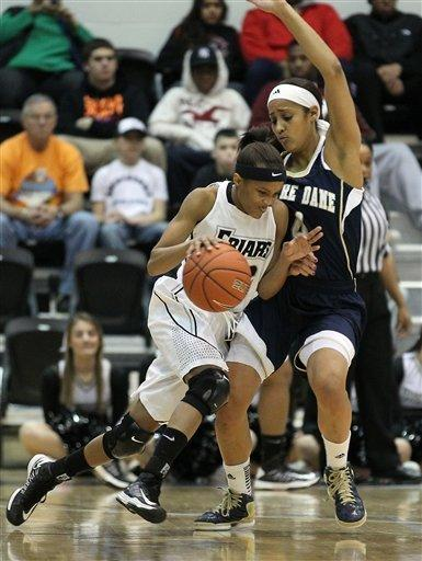 No. 2 Notre Dame women rout Providence 92-57