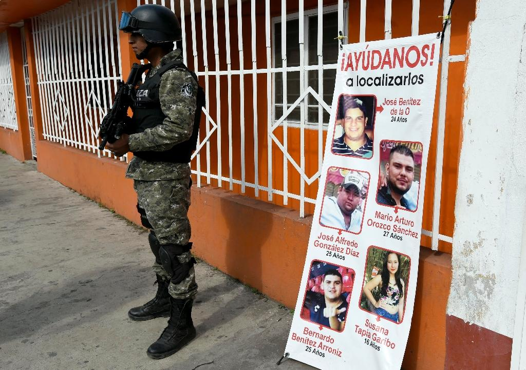 Mexico finds bones of two of five missing young people