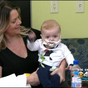 Florida Baby To Spend Christmas At Home After Heart Transplant