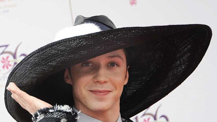 Johnny Weir Kntcky Drby j