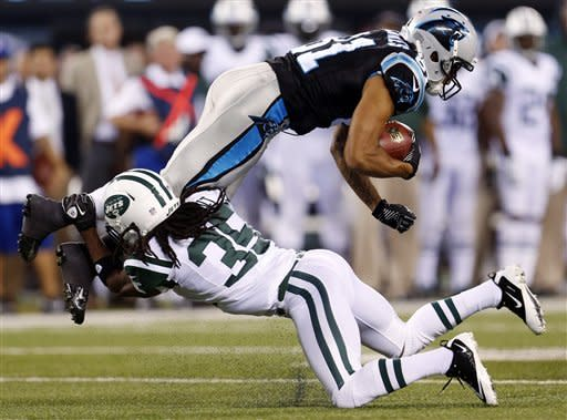 No TDs for Jets again in 17-12 loss to Panthers