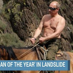 "Russia's ""Man of the Year"""