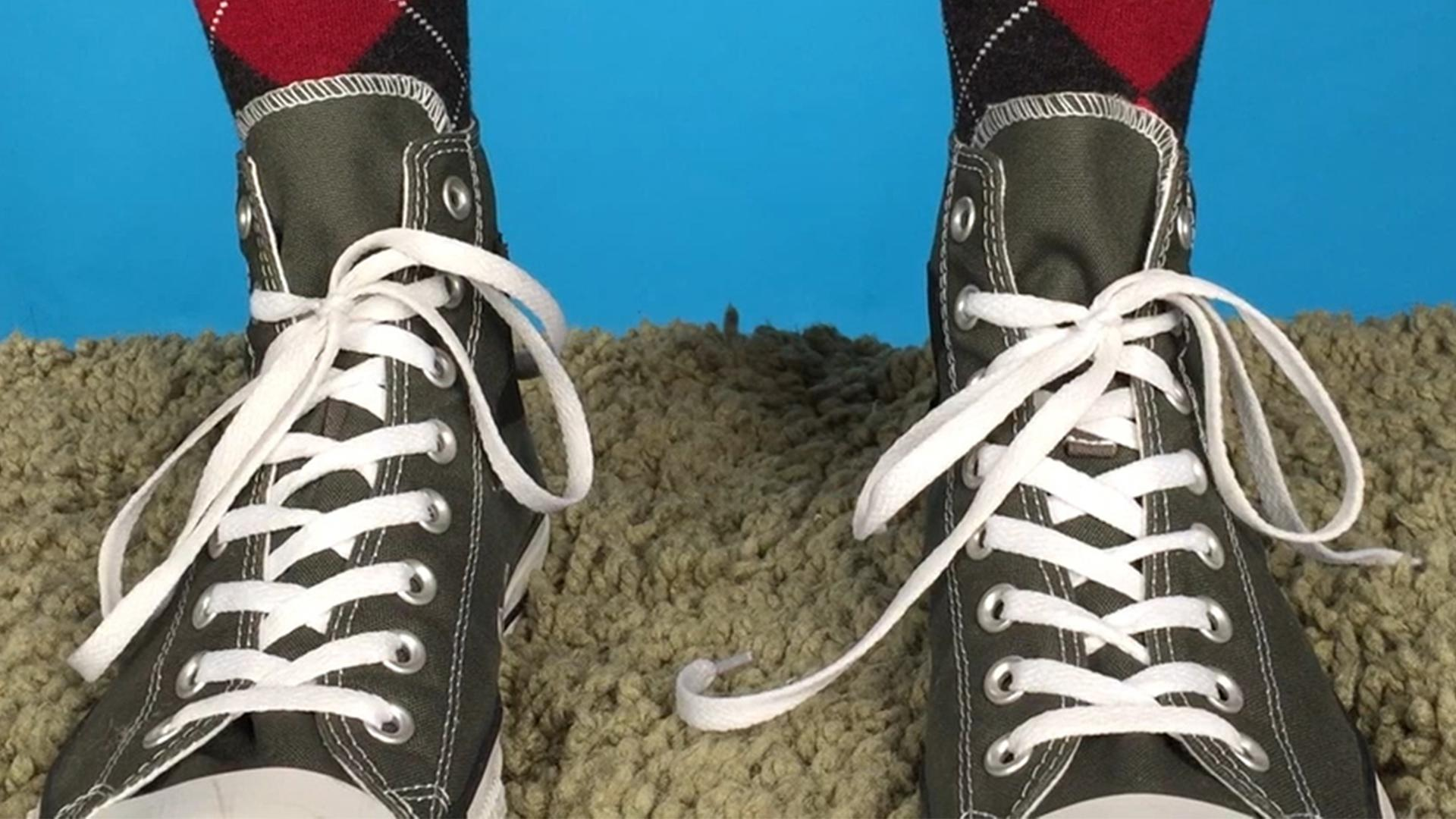 You've Been Tying Your Shoes Wrong