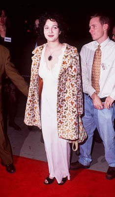 Drew Barrymore at the Hollywood premiere of Dimension's From Dusk Till Dawn