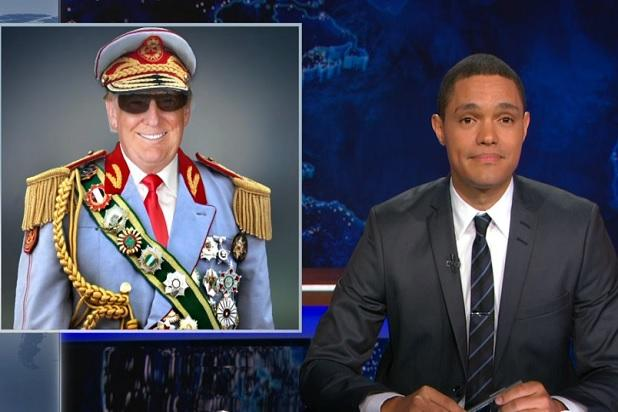 Trevor Noah Compares Donald Trump to African Dictators (Video)