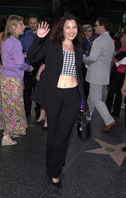 Premiere: Fran Drescher at the Hollywood premiere of Fine Line's The Anniversary Party - 6/6/2001